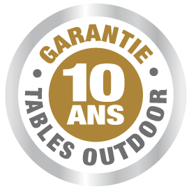 garantie 10 ans table ping pong